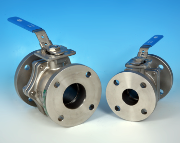 Stainless Steel Flanged BS10 Table E Direct Mount Ball Valve NTC KV-L61/E