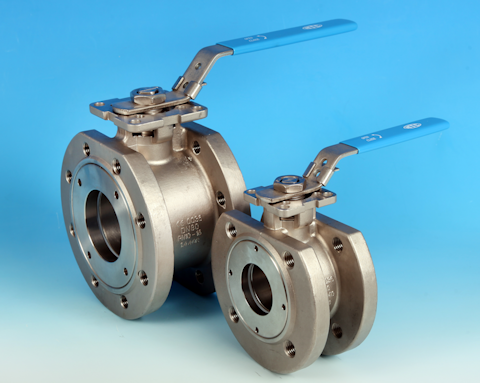 stainless steel Wafer Pattern Flanged DIN PN16/40 Ball Valve