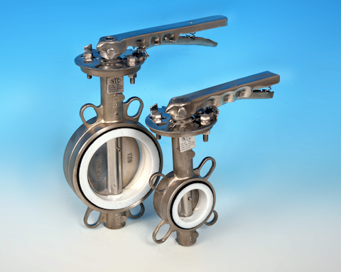 Fully Stainless Steel Wafer Pattern Butterfly Valve